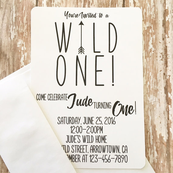 wild one birthday invitation template ; like-this-item_wild-one-first-birthday-invitations-printed-boy-s-on-wild-one-invitation-first-birthday-by-papersparkledesigns-etsy