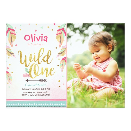 wild one birthday invitation template ; wild_one_birthday_invitation_first_birthday_girl-r61df2d9b7b0a4bebba7f8e7013042264_zkrqs_540