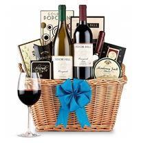 wine basket birthday gift ; flowers-gifts_gift-baskets_wine-baskets