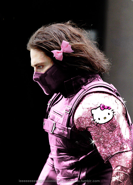 winter soldier birthday card ; kittyavangers05