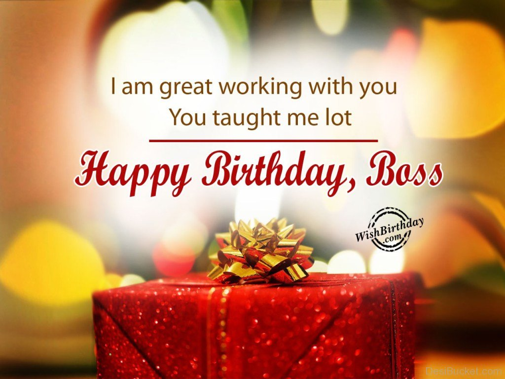 wish birthday for boss ; I-Am-Great-Working-With-you