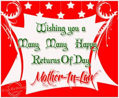 wish you a many many happy birthday ; wishing-you-a-many-many-happy-returns-of-day-mother-in-law