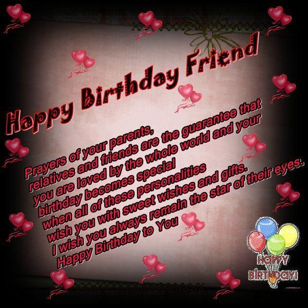 wish your friend happy birthday ; lovely-birthday-wishes-for-friend
