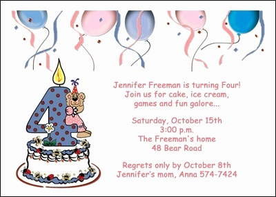 wording for 4th birthday invitation girl ; 4th-birthday-invitation-cards-beautiful-girls-4th-birthday-party-invitation-cards-5508cs-gt-of-4th-birthday-invitation-cards