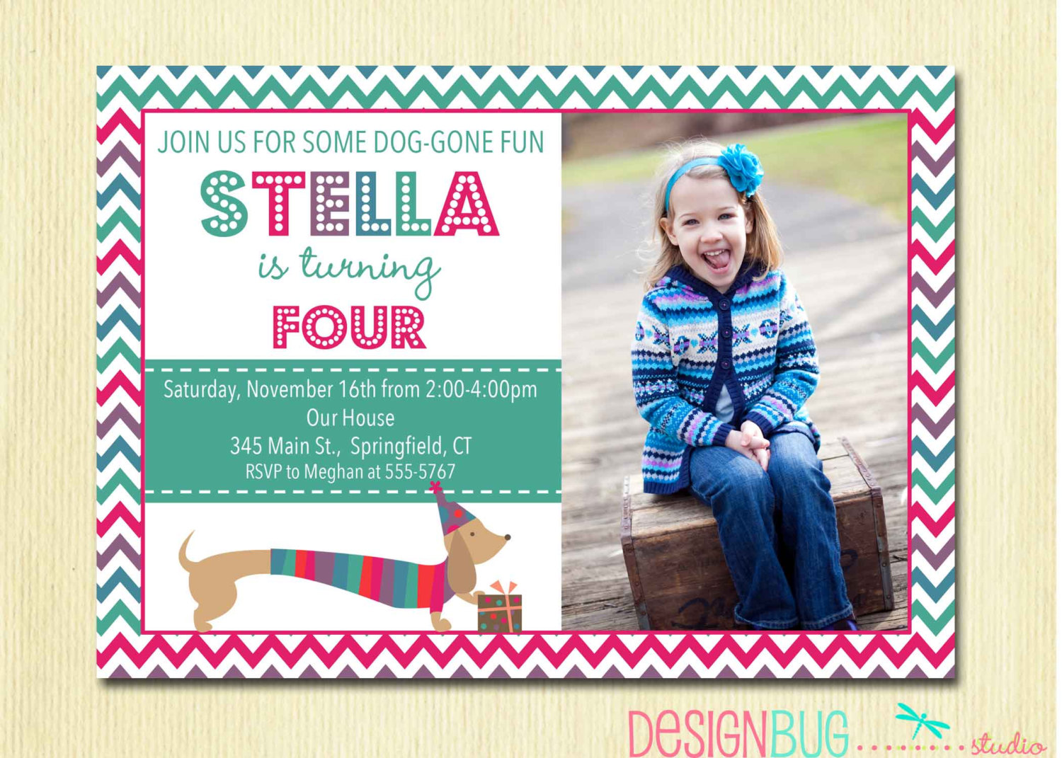 wording for a 5 year old birthday party invitation ; 4_year_old_birthday_invitations_1