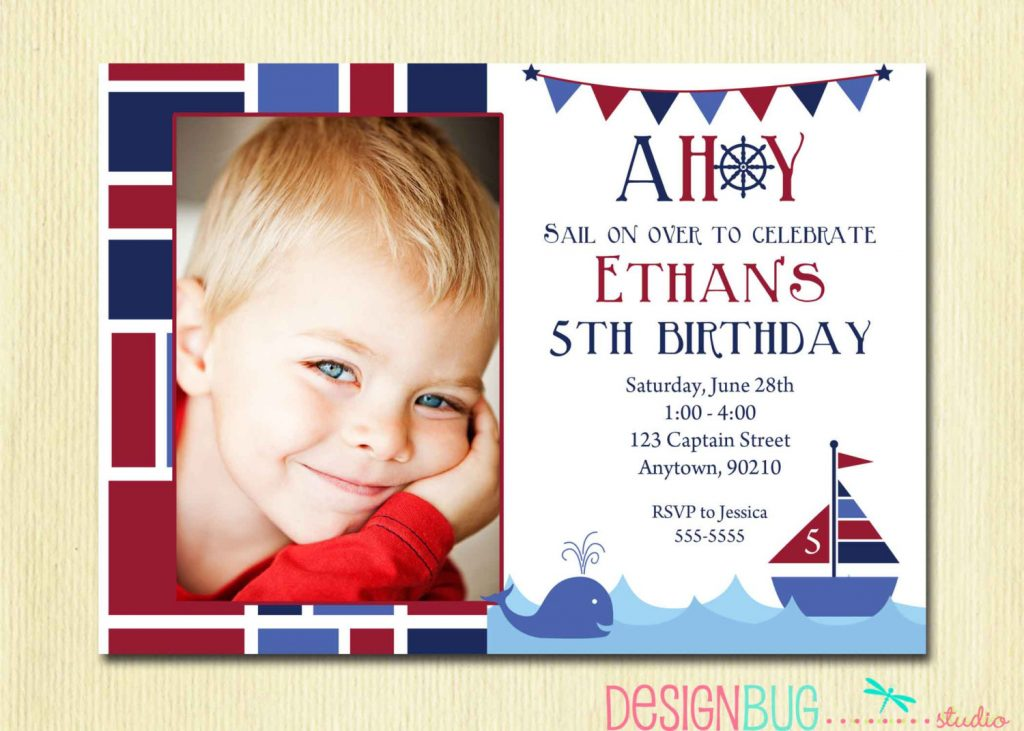 Wording For A 5 Year Old Birthday Party Invitation