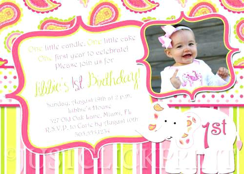 wording for a 5 year old birthday party invitation ; St-Bi-Marvelous-First-Birthday-Party-Invitation-Message