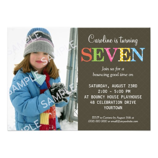 Wording For A 5 Year Old Birthday Party Invitation Invite