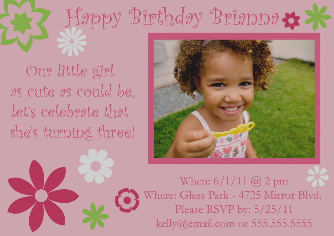 wording for a 5 year old birthday party invitation ; unique-of-3-year-old-birthday-party-invitation-wording-for-11