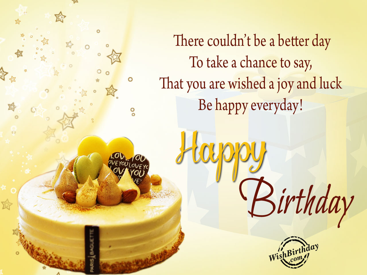 www birthday message com ; There-could-not-be-a-better-day