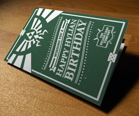 zelda birthday card printable ; il_570xN