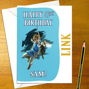 zelda birthday card printable ; s-l300