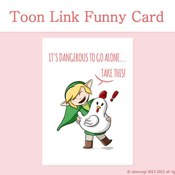 zelda birthday card printable ; x354-q80