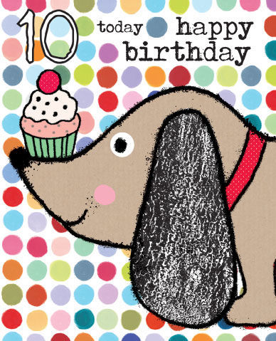 10th birthday card girl ; buy_10th_birthday_cards_online_for_boy_girl_dotty_dog_age_10_birthday_card_for_child_childrens_age_ten_cards_large1438263611