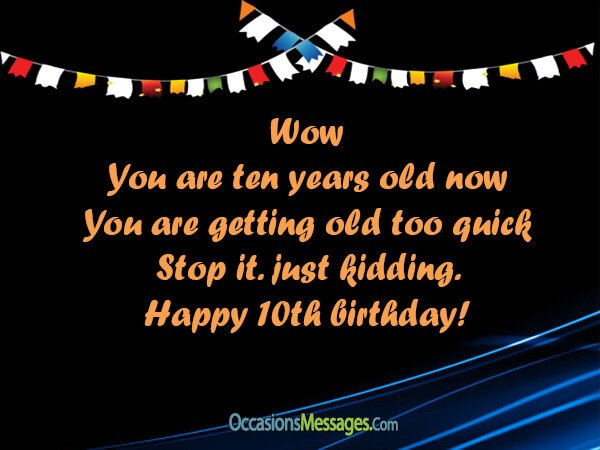 10th birthday card messages ; 10th-Birthday-Wishes