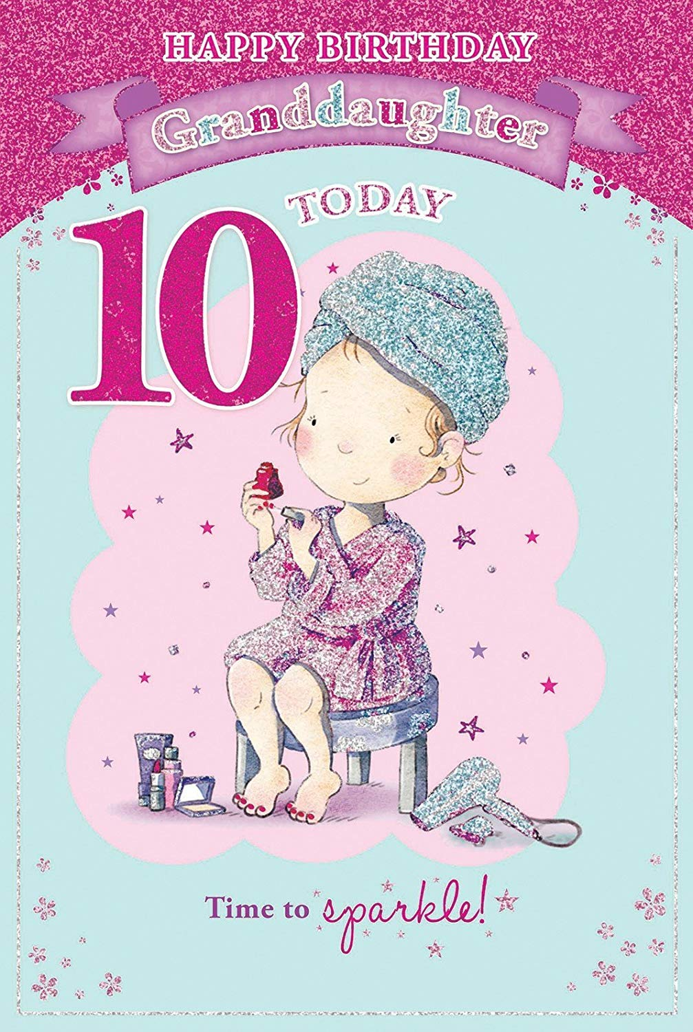 10th birthday card messages ; 81%252BF1LD9YaL
