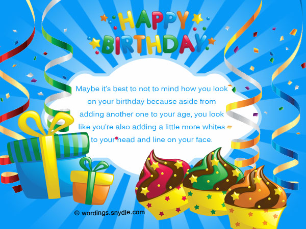 10th birthday card messages ; birthday-wishes-with-some-humor