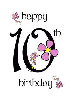 10th birthday card messages ; happy-10th-birthday-clipart-girl-10th-birthday-clipart-4