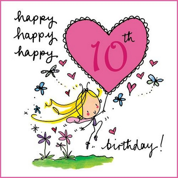 10th birthday message for daughter ; Happy-10th-Birthday