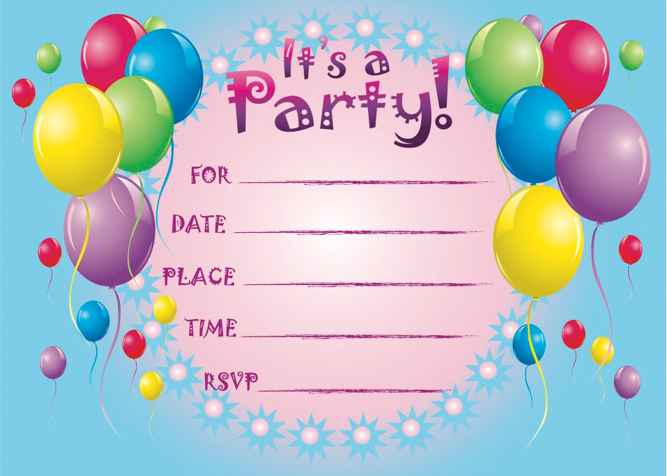 12 year old birthday invitations printable ; printable-birthday-invitations-for-12-year-old-girls-so-pretty-printable-announcement-cards