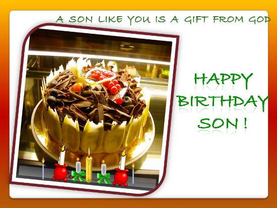 123 free greeting birthday cards for son ; 304160