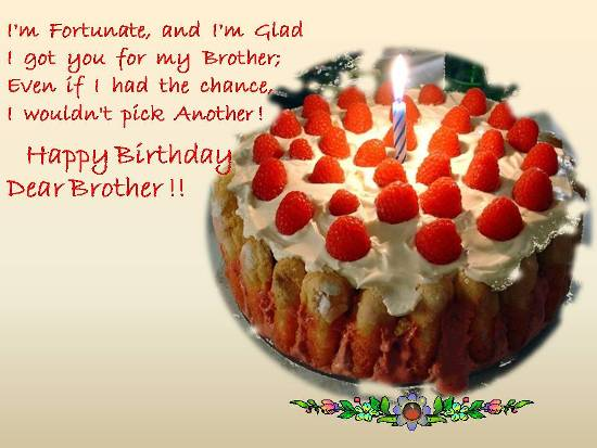 123 free greeting cards birthday for brother ; 303325