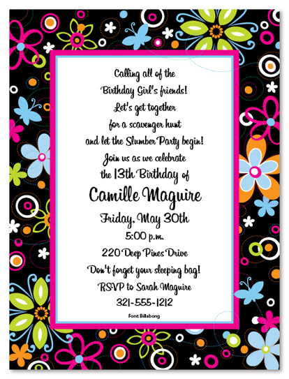 13th birthday party invitation wording ideas ; birthday-dinner-invitation-wording-and-the-invitations-of-the-Birthday-Invitation-Templates-to-the-party-sketch-with-cool-idea-5
