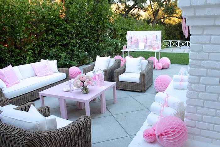 14th birthday party ideas ; Pretty-In-Pink-14th-Birthday-Party-via-Karas-Party-Ideas-KarasPartyIdeas-1
