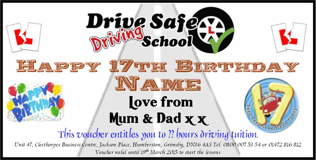 17th birthday card driving ; gift_voucher_male_17