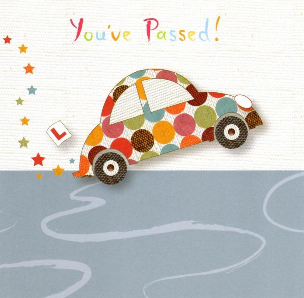 17th birthday card driving ; lrgscaleArtisan23-Driving-Test-Passed