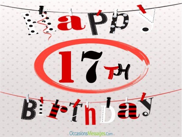 17th birthday card ideas ; 17th-birthday-card-messages-unique-the-25-best-17th-birthday-quotes-ideas-on-pinterest-of-17th-birthday-card-messages