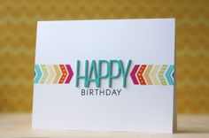 17th birthday card ideas ; 70eaeedde4717bc157891b2aa0d4a938--chevron-cards-diy-cards