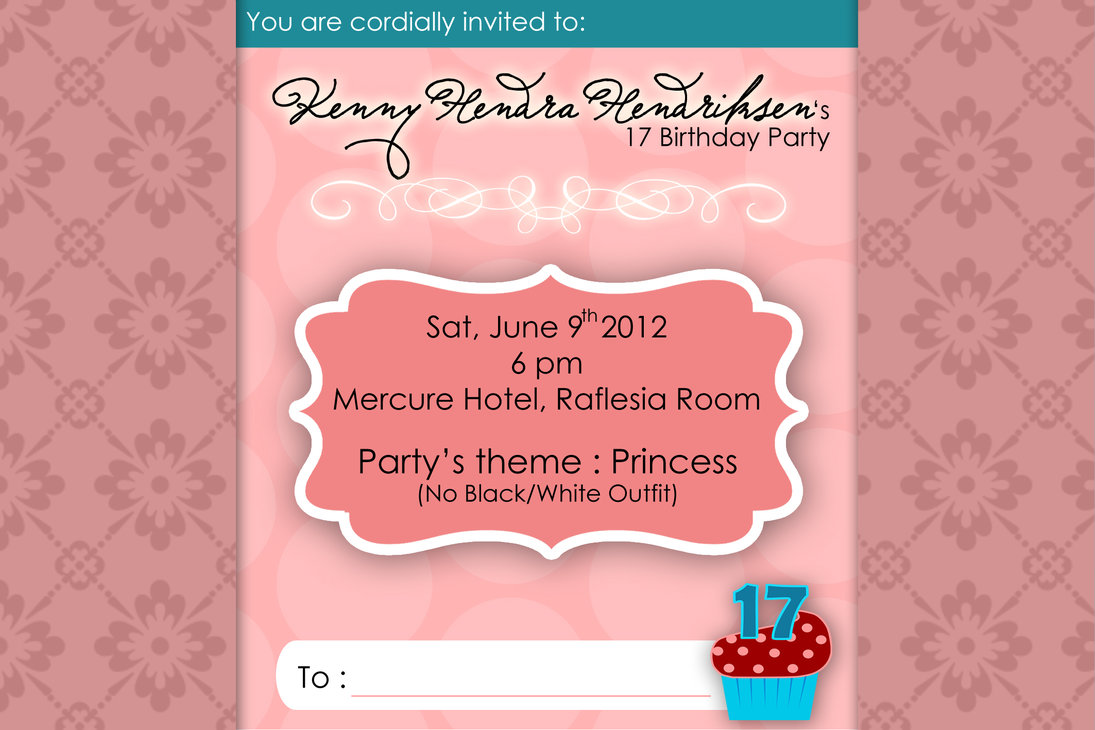 17th birthday invitation templates ; Attractive-17Th-Birthday-Invitations-As-An-Extra-Ideas-About-Printable-Birthday-Invitations