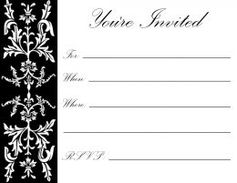 17th birthday invitation templates ; black-and-white-birthday-invitations-for-your-extraordinary-Birthday-Invitation-Templates-associated-with-beautiful-sight-using-a-artistic-design-19