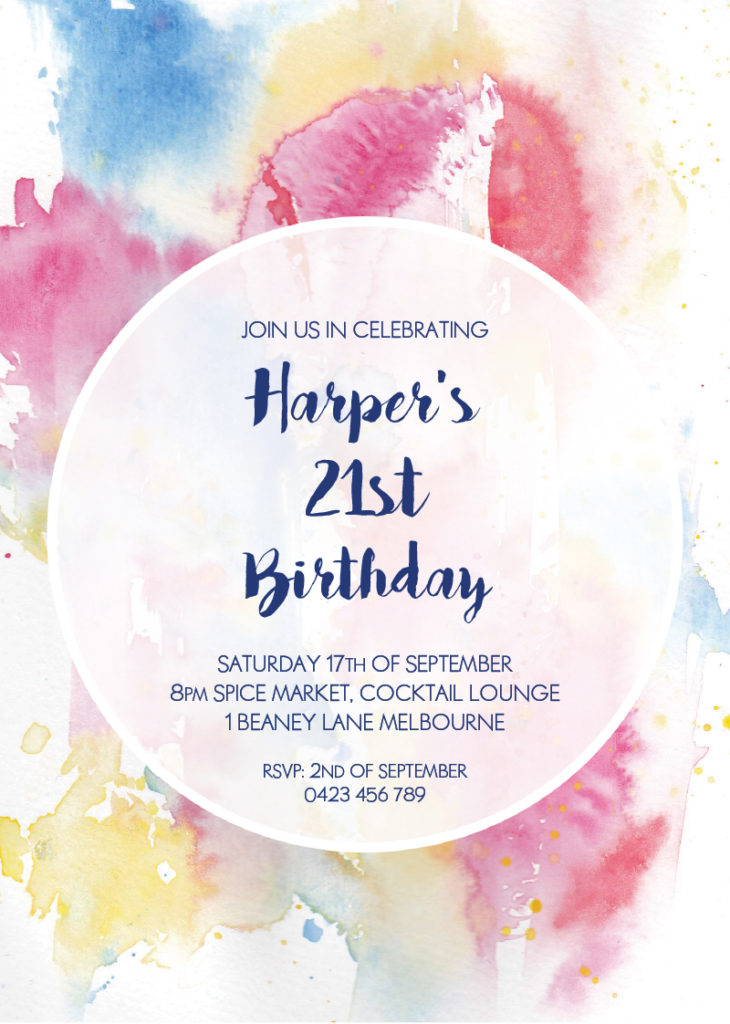 17th birthday invitation templates ; how-to-birthday-template-730x1024