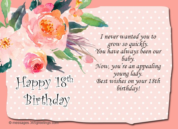 18th birthday card messages niece ; 18th-Birthday-Card-Messages-Niece-2