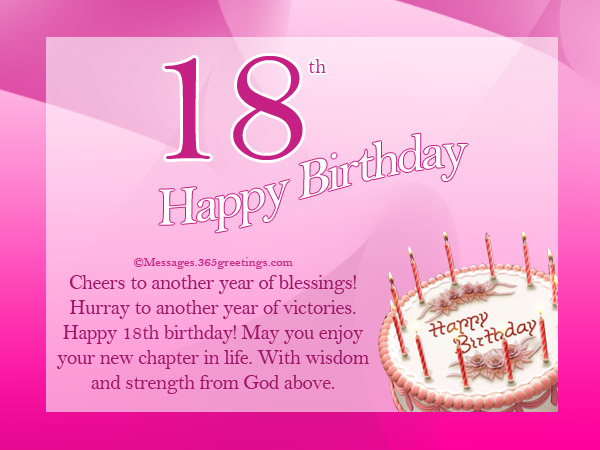 18th birthday card messages niece ; 18th-birthday-greetings