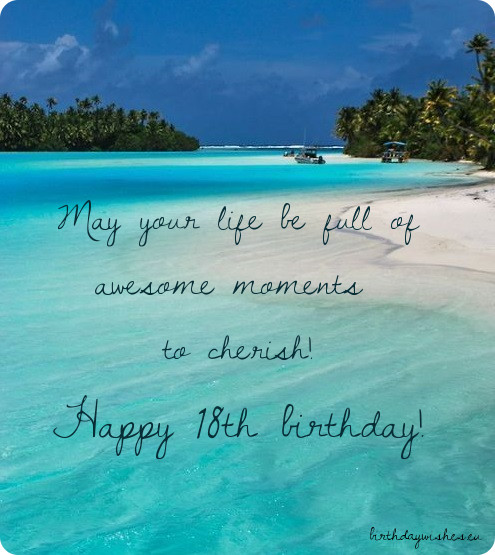 18th birthday message for a friend ; happy-18th-birthday-wishes