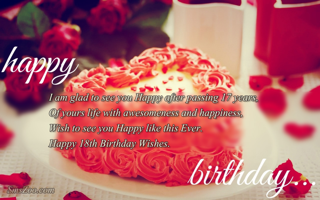 18th birthday message for a friend ; happy-birthday-cake-my-love-happy-birthday-to-love-hdmessages-amp-quotes