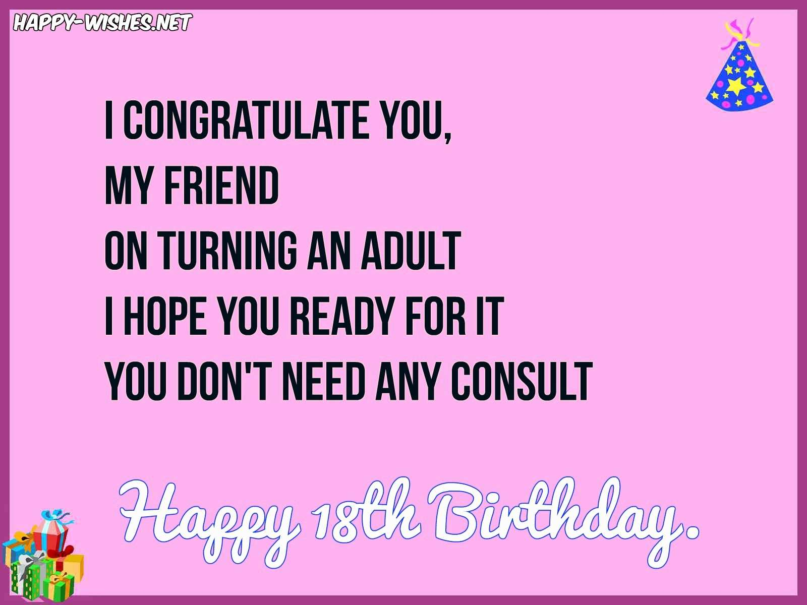 18th birthday message for a friend ; happy-birthday-wishes-to-son-unique-quotes-to-wish-a-friend-happy-birthday-luxury-18th-birthday-wishes-of-happy-birthday-wishes-to-son
