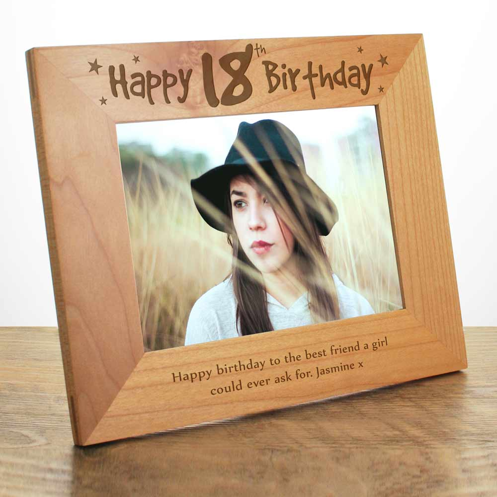 18th birthday photo frame ; 11076_LRG