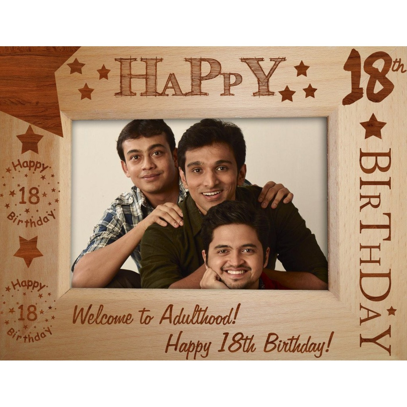 18th birthday photo frame ; 131-1400x1400
