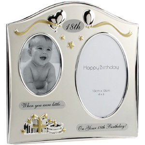 18th birthday photo frame ; 18th-birthday-picture-frame-2