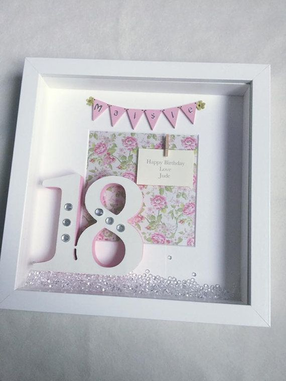 18th birthday photo frame ; 3bd7ee239fb72102b3f662f6e760b9d2