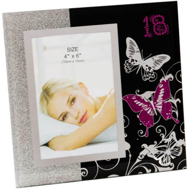 18th birthday photo frame ; gf18bp-800x800