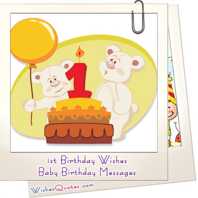 1st birthday girl message ; 1st-Birthday-Wishes-Featured