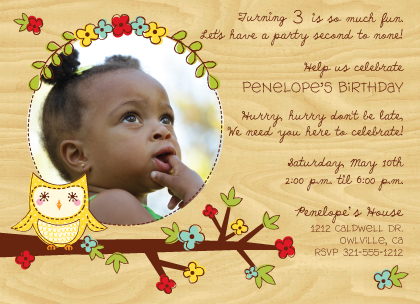 1st birthday invitation cards in telugu ; 267_1_130_A02_lg