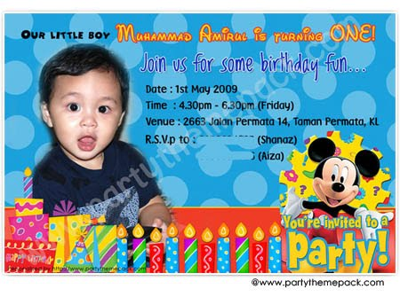 1st birthday invitation cards in telugu ; invitation-card-amirul