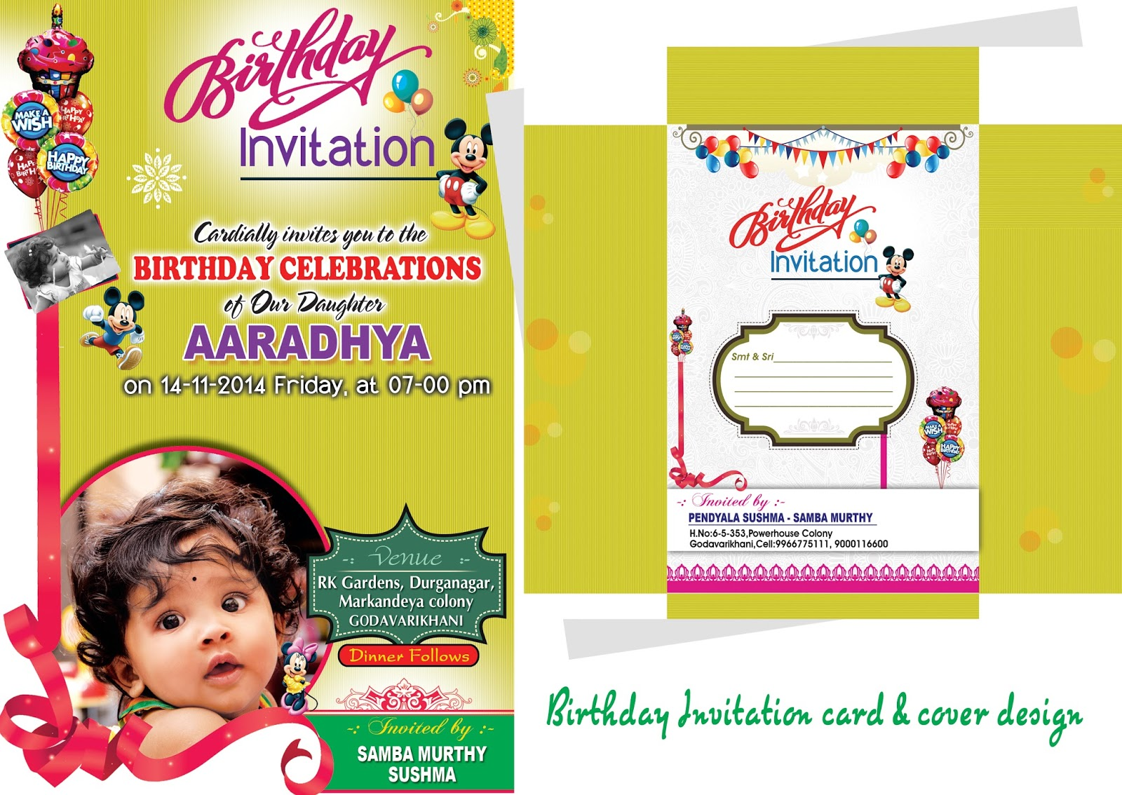 1st birthday invitation cards in telugu ; kid-birthday-invitation-card-template-birthday-invitation-card-psd-template-free-0