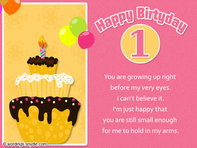1st birthday message for niece ; 1st-birthday-messages-sayings